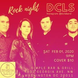 Image for DCLS Rock Concert @ Simple Bar & Grill