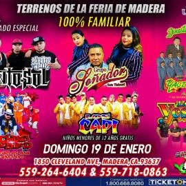 Image for Grupo Soñador,Kinto sol,Yaguaru y Mas En Madera,CA