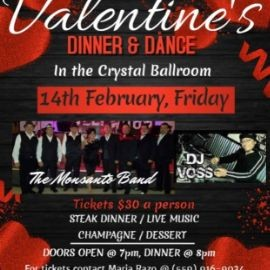 Image for Valentine´s Dinner & Dance En Fresno,CA