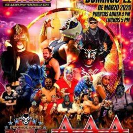 Image for Lucha Libre AAA En Norcross,GA POSTPONED