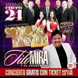 Image for Sonora Dinamita y Tito Mira & Su Chanchona  En Annandale,VA