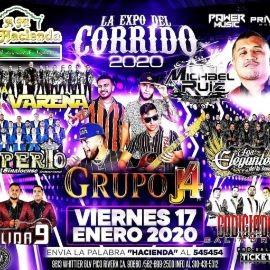 Image for La Expo Del Corrido 2020 Con Banda La Vareña,Grupo J4,Banda Imperio y Mas En Pico Rivera,CA