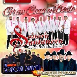 Image for Gran Cena y Baile El Dia de San Valentin con la Sonora Santanera, Sonora Dinamita y los Cadetes de Linares!