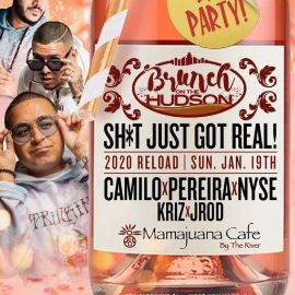Image for Brunch On The Hudson MLK Weekend DJ Camilo Live At Mamajuana Cafe By The River