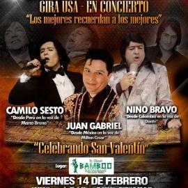 Image for Tributo Los Inolvidables Gira USA 2020 Camilo Sesto,Nino Bravo Juan Gabriel En Miami,FL