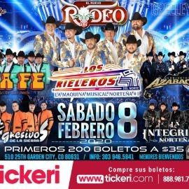 Image for Los Rieleros,La Fe,Azabache y Mas En Garden City,CO