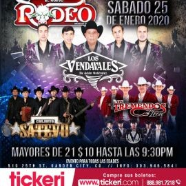 Image for Los Vendavales,Conjunto Satevo y Los Tremendos de Leon En Garden City,CO