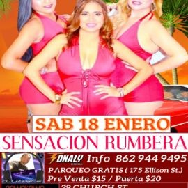 Image for Sensación Rumbera En Paterson, NJ