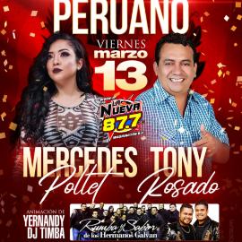 Image for Reventonazo Peruano: Mercedes Pollet y Tony Rosado en Concierto!