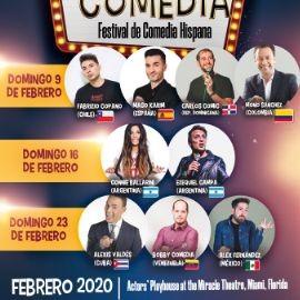 Image for Divina Comedia, Festival de comedia hispana - Miami Febrero 9