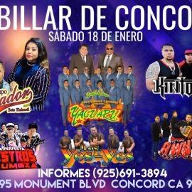 Image for Grupo Soñador,Yaguaru,Kintosol, Loa Yes-Yes y Mas En Concord,CA