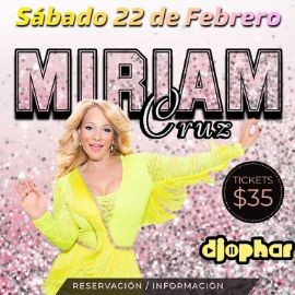 Image for Miriam Cruz En Concierto En Juana Sports Bar