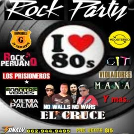 Image for Rock Party 80s by El Cruce