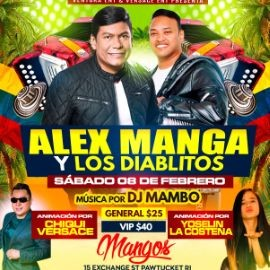 Image for Alex Manga y Los Diablitos En Concierto En Pawtucket,RI