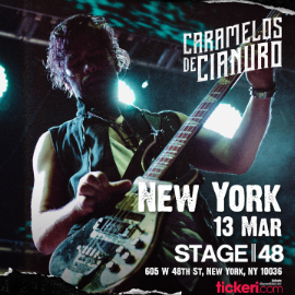 Image for CARAMELOS DE CIANURO EN NEW YORK