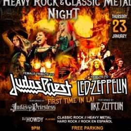 Image for Heavy Rock & Classic Metal Night En Paramount,CA