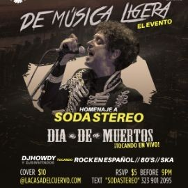Image for Homenaje A Soda Stereo En Downey,CA