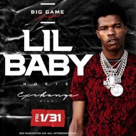 Image for Big Game Weekend Lil Baby Live At Exchange Miami