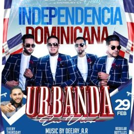 Image for Independencia Dominicana Con Urbanda En Vivo En Danbury,CT