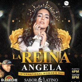 Image for La Reina Ángela Leiva en NY CANCELED