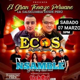 Image for SALSA CUMBIA EN VIRGINIA CON NSAMBLE Y LOS ECOS