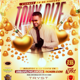 Image for Tony  Dize En Concierto en Fitchburg,MA