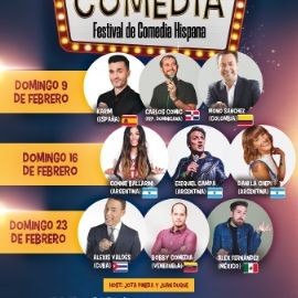 Image for Divina Comedia, Festival de comedia hispana - Miami Febrero 16