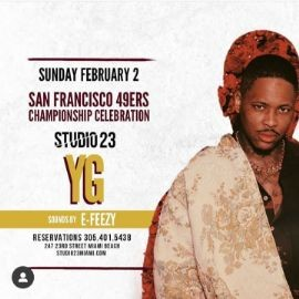Image for Big Game Weekend YG Live At Studio 23