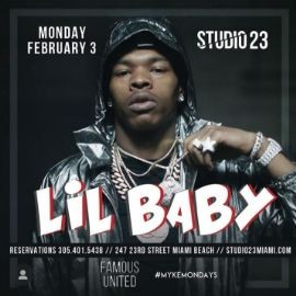 Image for Big Game Weekend Finale Lil Baby Live At Studio 23