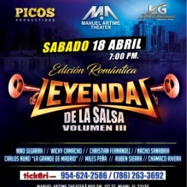Image for Leyendas de la Salsa Volumen 3 en Miami