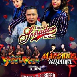 Image for Grupo Sonador, Los Yes - Yes, Maestros Kumbia en Concierto en Anaheim,CA