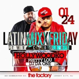 Image for Latin Mix Fridays The Closers At Factory