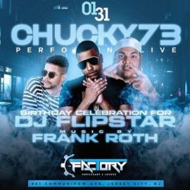 Image for Latin Mix Fridays DJ Flipstar Birthday Bash Chucky 73 At The Factory