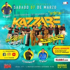 Image for Kazzabe - Bronx, NY (Sei Sei Bei, Gira USA)