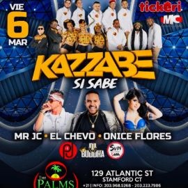 Image for Kazzabe, Chevo, Mr Jc, Onice - Stamford, CT (Sei Sei Bei, Gira USA)