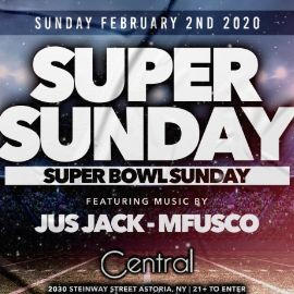 Image for CENTRAL LOUNGE SUPERBOWL PARTY 2020