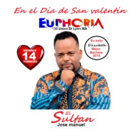 Image for El Sultan en Euphoria Lynn Febrero 14