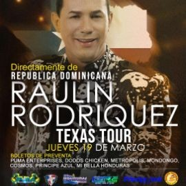 Image for RAULIN RODRIGUEZ TEXAS TOUR