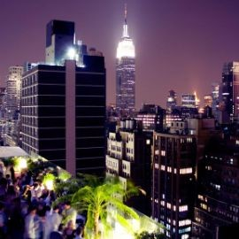 Image for SATURDAY NIGHT PARTY | Sky Room NYC Tallest Rooftop Bar Lounge  Times Square