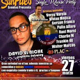 Image for Gran Gala Single Release Party con David El Niche Orquesta Salsaley en Vivo! POSTPONED