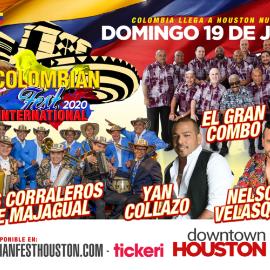 Image for Colombian Fest International 2020 en Houston,TX