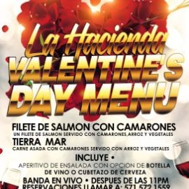 Image for La Hacienda Valentine's Day Menu