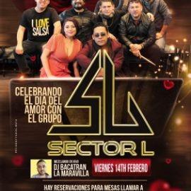Image for Celebrando el Dia del Amor con el grupo Sector L en Vivo!