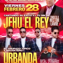 Image for Celebrando la Independencia de la Republica Dominicana: Urbanda y Jehu El Rey en Vivo! CANCELED