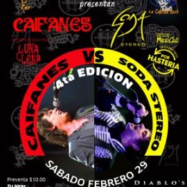 Image for CAIFANES VS SODA STEREO 4