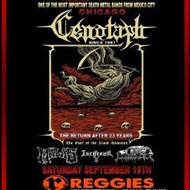 """Image for La banda Mexicana mas importante de Death Metal: """"Cenotaph"""" en Vivo!"""