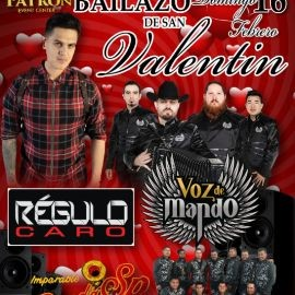 Image for VOZ DE MANDO,REGULO CARO & BANDA SP EN VIVO