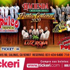 Image for Fiesta Costeña 2020 Con Conjunto Acapulco Tropical, Furia Oaxaqueña y Mas En Salinas,CA