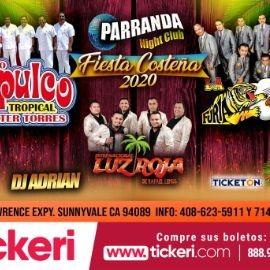 Image for Fiesta Costeña 2020 Con Conjunto Acapulco Tropical, Furia Oaxaqueña y Mas En Sunnyvale,CA