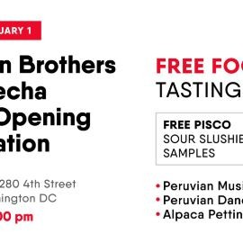 Image for Peruvian Brothers La Cosecha Grand Opening Celebration!
